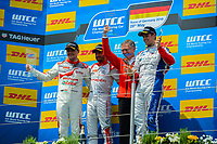 Race of Germany Nürburgring Nordschleife 2016 WTCC Race 2 Podium  © 2016 Musson/PSP. All Rights Reserved.