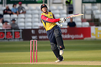 Simon Harmer of Essex fends off a Chris Jordan delivery during Essex Eagles vs Sussex Sharks, Vitality Blast T20 Cricket at The Cloudfm County Ground on 15th June 2021