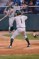 August 6, 2010: Boise Hawks' Elliot Soto (#1) at-bat during a Northwest League game against the Everett AquaSox at Everett Memorial Stadium in Everett, Washington.