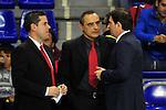 League ACB-Endesa 2013/2014 - Game: 10.<br /> FC Barcelona vs CB Valladolid: 109-50.<br /> Ricard Casas & Xavi Pascual.