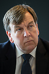 © Joel Goodman - 07973 332324 - all rights reserved . 17/07/2015 . Manchester , UK . JOHN WHITTINGDALE OBE , MP for Maldon and Secretary of State for Culture Media and Sport , visits new arts venue HOME , in Manchester . Photo credit: Joel Goodman