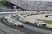 #78: Martin Truex Jr., Furniture Row Racing, Toyota Camry 5-hour ENERGY/Bass Pro Shops, #9: Chase Elliott, Hendrick Motorsports, Chevrolet Camaro NAPA Auto Parts
