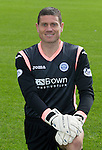 St Johnstone FC 2014-2015 Season Photocall..15.08.14<br /> Steve Banks<br /> Picture by Graeme Hart.<br /> Copyright Perthshire Picture Agency<br /> Tel: 01738 623350  Mobile: 07990 594431