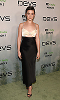 "LOS ANGELES - MARCH 2: Cailee Spaeny attends the premiere of the new FX limited series ""Devs"" at ArcLight Cinemas on March 2, 2020 in Los Angeles, California. (Photo by Frank Micelotta/FX Networks/PictureGroup)"
