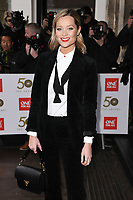 Laura Whitmore<br /> arriving for the TRIC Awards 2019 at the Grosvenor House Hotel, London<br /> <br /> ©Ash Knotek  D3487  08/03/2019