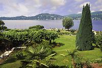 - Lombardia, panorama del Lago Maggiore da Ranco (Varese)<br /> <br /> - Lombardy, panorama of Maggiore Lake from Ranco (Varese)