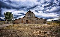 Mormon Row Barn (color) - Wyoming - Grand Teton NP