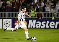 Fudbal, Champions league,Group H season 2010/2011.Partizan Vs. Arsenal.Cleo.Beograd, 29.09.2010..foto: Srdjan Stevanovic/Starsportphoto ©