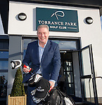 Ally McCoist opens the refurbished clubhouse at Torrance Park Golf Club near Motherwell