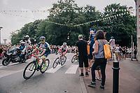 Dion Smith (AUS/Wanty-Groupe Gobert) leading the early breakaway group<br /> <br /> Stage 2: Mouilleron-Saint-Germain > La Roche-sur-Yon (183km)<br /> <br /> Le Grand Départ 2018<br /> 105th Tour de France 2018<br /> ©kramon