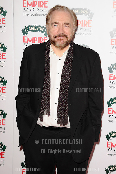 Brian Cox<br /> arives for the Empire Magazine Film Awards 2014 at the Grosvenor House Hotel, London. 30/03/2014 Picture by: Steve Vas / Featureflash