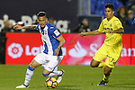 CD Leganes' Luciano Neves (l) and Villarreal CF's Rodri Hernandez during La Liga match. December 3,2016. (ALTERPHOTOS/Acero)