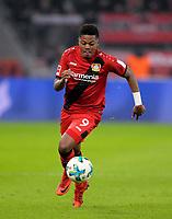 12.01.2018,  Football 1.Liga 2017/2018, 18. match day, Bayer Leverkusen - FC Bayern Muenchen, in BayArena Leverkusen. Leon Bailey (Leverkusen). *** Local Caption *** © pixathlon<br /> <br /> +++ NED + SUI out !!! +++<br /> Contact: +49-40-22 63 02 60 , info@pixathlon.de