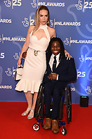 LONDON, UK. October 15, 2019: Ade Adepitan at the National Lottery Awards 2019, London.<br /> Picture: Steve Vas/Featureflash