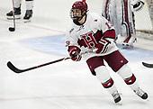Nathan Krusko (Harvard - 13) - The visiting Colgate University Raiders shut out the Harvard University Crimson for a 2-0 win on Saturday, January 27, 2018, at Bright-Landry Hockey Center in Boston, Massachusetts.