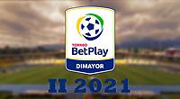 COLOMBIA, 11-07-2021. Logo del Torneo BetPlay DIMAYOR II 2021. Photo: VizzorImage / Cont