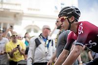 Egan Bernal Gomez (COL/Ineos) at the start in Brussels<br /> <br /> Stage 1: Brussels to Brussels(BEL/192km) 106th Tour de France 2019 (2.UWT)<br /> <br /> ©kramon