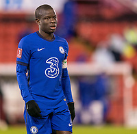 11th February 2021; Oakwell Stadium, Barnsley, Yorkshire, England; English FA Cup 5th round Football, Barnsley FC versus Chelsea; Ngolo Kanté of Chelsea