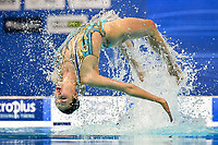 FIEDINA Marta / SAVCHUK Anastasiya UKR <br /> DUET FREE Final <br /> Artistic Swimming<br /> Budapest  - Hungary  14/5/2021<br /> Duna Arena<br /> XXXV LEN European Aquatic Championships<br /> Photo Andrea Staccioli / Deepbluemedia / Insidefoto