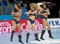 23rd Men's Handball World Championship cheerleaders 15,2013. (ALTERPHOTOS/Acero) /NortePhoto