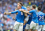 St Johnstone v Dundee United....17.05.14   William Hill Scottish Cup Final<br /> Steven Anderson celebrates his goal with Stevie May<br /> Picture by Graeme Hart.<br /> Copyright Perthshire Picture Agency<br /> Tel: 01738 623350  Mobile: 07990 594431