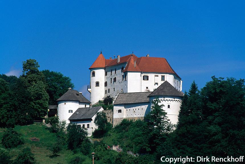 Slowenien. Burg von Velenje