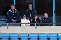 Warwickshire Sports Director and former England cricket coach, Paul Farbrace, (Back row, right) was in the stand watching the match during Gillingham vs Oxford United, Sky Bet EFL League 1 Football at the MEMS Priestfield Stadium on 10th October 2020