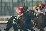 TOYOAKE,JAPAN-JUN 30: Red en CIel, ridden by Yuichi Fukunaga,wins the CBC Sho at Chukyo Racecourse on June 30,2019 in Toyoake,Aichi,Japan. Kaz Ishida/Eclipse Sportswire/CSM