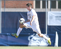 Jimmy Nealis #16 of Georgetwn University during a Big East match against Villanova University at North Kehoe Field, Georgetown University on October16 2010 in Washington D.C. Georgetown won 3-1.