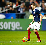 Frankrijk, Parijs, 13 november 2015<br /> Oefenwedstrijd<br /> Frankrijk-Duitsland (2-0)<br /> Morgan Schneiderlin van Frankrijk