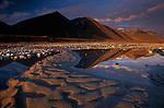 Midnight in June in Alaska's arctic reaches, Jago River
