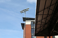 General view of a floodlight during Leyton Orient vs Oldham Athletic, Sky Bet EFL League 2 Football at The Breyer Group Stadium on 11th September 2021