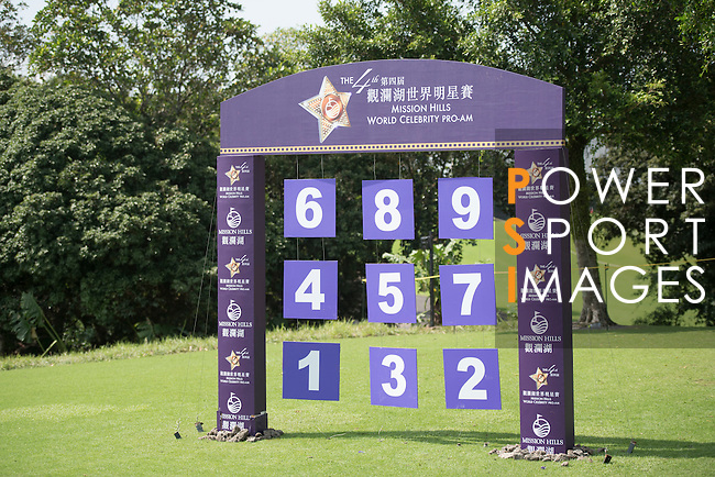 World Celebrity Pro-Am 2016 Mission Hills China Golf Tournament on 22 October 2016, in Haikou, China. Photo by Weixiang Lim / Power Sport Images