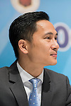 Wayne Fong, Head of Corporate Affairs of Citi, attends the press conference for the HKFC Citi Soccer Sevens Hong Kong 2017 at the Hong Kong Football Club on 07 February 2017 in Hong Kong, China. Photo by Victor Fraile / Power Sport Images