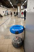 Recycling scheme, Paddington Station.