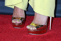 LOS ANGELES - SEP 7:  Heidi Klum shoe detail at the America's Got Talent Live Show Red Carpet at the Dolby Theater on September 7, 2021 in Los Angeles, CA