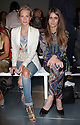 Poppy Delevingne and Jade Williams at the Matthew Williamson show   at London Fashion Week for Spring/Summer 2013, Sunday,16th September 2012 Photo by: Stephen Lock /i-images/ DyD Fotografos