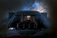 Dec. 3, 2013; Brownsburg, IN, USA; NHRA funny car driver Jack Beckman poses for a portrait at Don Schumacher Racing.