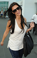 MIAMI, FL - OCTOBER 24 : (EXCLUSIVE COVERAGE)  Kim Kardashian arrives at at her Hotel.  on October 24, 2009 in Miami Florida.(Photo by Storms Media Group)<br /> <br /> People:    Kim Kardashian