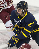 Patrick Kramer (Merrimack - 27) - The visiting Merrimack College Warriors defeated the Boston College Eagles 6 - 3 (EN) on Friday, February 10, 2017, at Kelley Rink in Conte Forum in Chestnut Hill, Massachusetts.