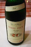 bihl riesling 2003 domaine pierre frick pfaffenheim alsace france
