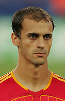 Mariano Pernia of Spain. Spain defeated Tunisia 3-1 in their FIFA World Cup Group H match at the Gottlieb-Daimler-Stadion, Stuttgart, Germany, June 19, 2006.
