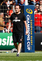 Photo: Richard Lane/Richard Lane Photography. RC Toulon v Wasps.  European Rugby Champions Cup Quarter Final. 05/04/2015. Toulon's Head Strength and Conditioning Coach, Paul Stridgeon.