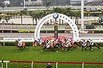 Horses run during the 2017 BMW Hong Kong Derby Race at the Sha Tin Racecourse on 19 March 2017 in Hong Kong, China. Photo by Marcio Rodrigo Machado / Power Sport Images