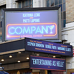 """""""Company"""" - Theatre Marquee unveiling"""