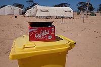 Tunisie RasDjir Camp UNHCR de refugies libyens a la frontiere entre Tunisie et Libye ....Tunisia Rasdjir UNHCR refugees camp  Tunisian and Libyan border  Campo profughi alla frontiera libica