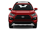Car photography straight front view of a 2019 Toyota RAV4 Adventure 5 Door SUV