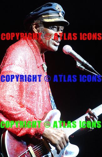 CHUCK BERRY; .Photo Credit: Eddie Malluk/Atlas Icons.com