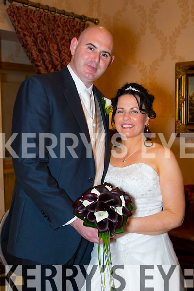Catherine Costello, Ballyduff, and Aidan O'Connor, Listowel were married at a civil ceremony by Mary T O'Shea at the Ballyroe Hotel on Thursday 4th December 2014 with a reception after at the Hotel