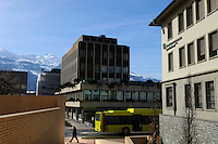 Banks in Vaduz. Liechtenstein has become a major tax haven, whose opaque banking laws are said to aid fraud, money laundering and tax evasion. There are an estimated 75,000 companies registered in the country, twice that of the population.